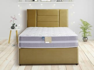 Deluxe Pennine Ultra Edge Natural Divan Set