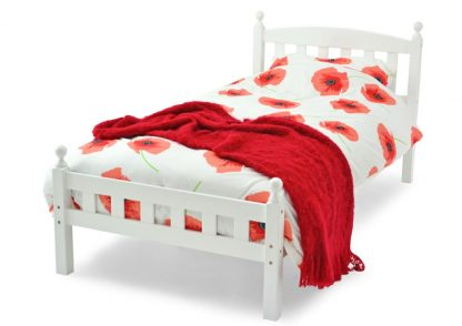 Florence Wooden Bed White