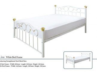 Lisa Metal Bed Frame