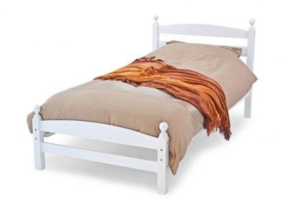 Moderna Wooden Bed White