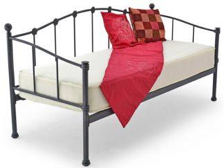 PAR Metal Guest Bed in Black