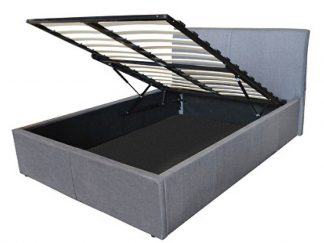 Texas Fabric Ottoman Storage Bed