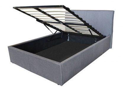 Texas Fabric Ottoman Storage Bed