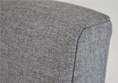 Texas Fabric Ottoman Storage Bed Fabric Close Up