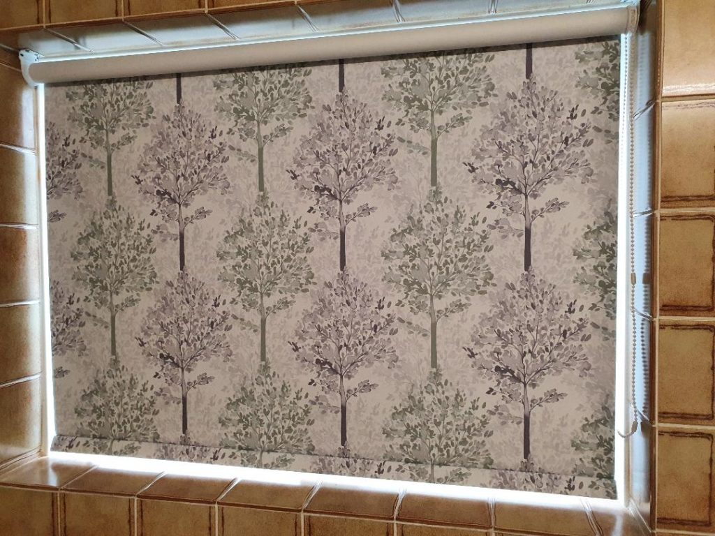 Tree Pattern Roller Blind