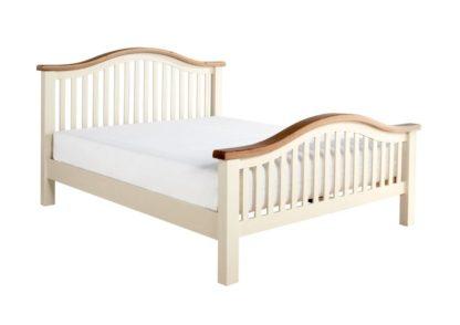 Maine High End Oak Wooden Bed