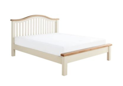 Maine Low End Oak Wooden Bed