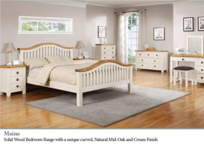 Maine Solid Wood Bedroom Range
