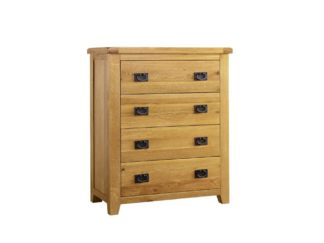 Minnesota 4 Drawer Oak Chest