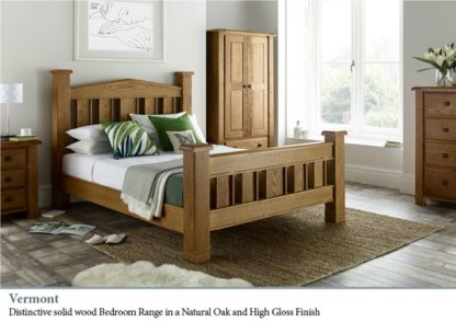 Vermont Oak Bedroom Range